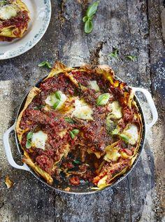 Aubergine Lasagne   Vegetables Recipes   Jamie Oliver Recipes