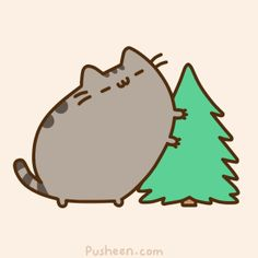 Pusheen Giant Cat Tree Scratching Post