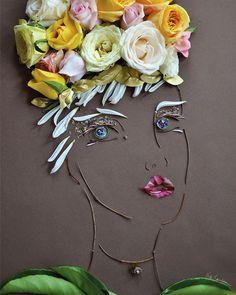 """Grace"" Flower Face Print"