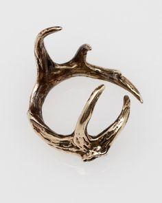 Elk antler ring, must have!