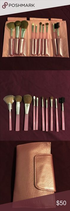 Sephora Collection Perfect Pink Brush Set Sephora Collection Perfect Pink Brush Set. Brand new. Sephora Makeup