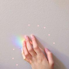 Soft LGBT pride mood board