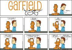 Hungry ~ Garfield comic strip, November 24, 2013 on GoComics.com