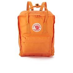 Fjallraven Kanken Classic in burnt orange