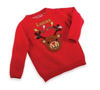 Felt Reindeer Sweater