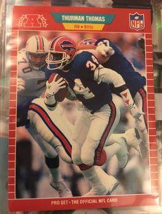 1989 Pro Set Football Thurman Thomas 32 Buffalo Bills Near Mint Combined | eBay
