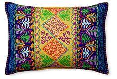 So pretty!! - Palm 14x20 Pillow, Yellow on OneKingsLane.com