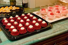 Red Velvet Bundtinis with Cream Cheese Frosting
