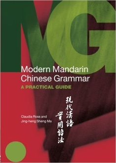 modern mandarin chinese grammar pdf