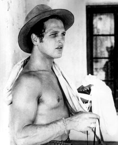 Paul Newman, 1950s...and the expression on his face.