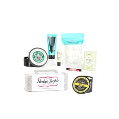 Pamper yourself and your customers from the top of your head to the tip of your toes with this big, beautiful bundle, which includes: Heebie Jeebie Foot Peel Kit, Portlandia Skindelicious, Amaaazing Bath Bombs, Mint for Each Other Chunk, I'm Shrinking Pore Minimizing Face Mask, Make-Out Magic Lip Balm, The Daily Grind Body Scrub, and Life is a Song Lip Butter. $79.00