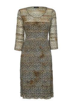 Long sleeve leopard lace dress by James Lakeland :: Clozette Shoppe  http://shoppe.clozette.co/product/HouseOfFraser-183567723/james-lakeland-long-sleeve-leopard-lace-dress