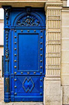 Blue Door by J Pruett