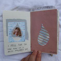 Sieh dir dieses Instagram-Foto von @fireflyfiphie #art #journal #sketchbook