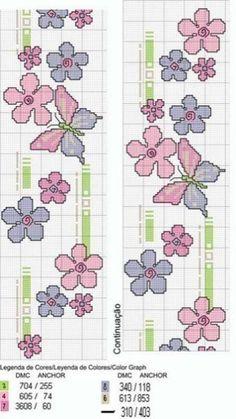 Graficos de mariposas en punto de cruz07