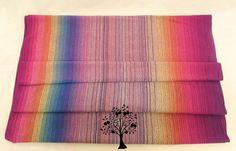 2.45 meter Sunset Prism CoK Handwoven Cloth Handmade by ClothofKin