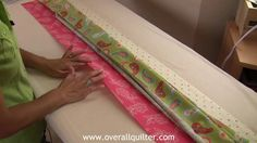 Pillow Cases with Hidden Seams-This is an awesome method of making a pillowcase.  Now I can make some to match a quilt!!