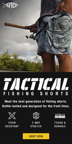 AFTCO M02 Long Range Fishing Shorts