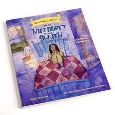 Wat kun je doen als je niet durft te gaan slapen - In dit speelse zelfhulpboek krijgen kinderen vanaf 7 jaar praktische tips om hun slaapproblemen aan te pakken. Met een introductie voor ouders.
