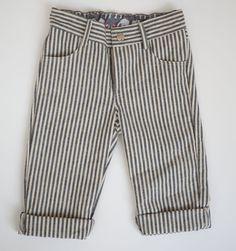 striped boy pants