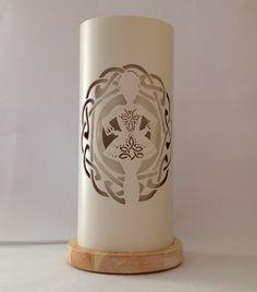 Irish dancer pvc pipe lamp
