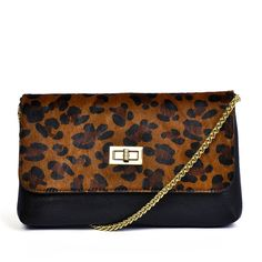 Classic Leopard Shoulder Bag by Mayfair Road $40.