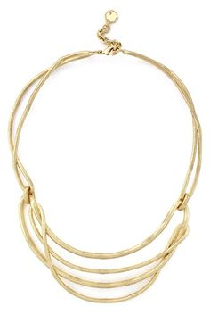 Louise et Cie Textured Wire Collar Necklace
