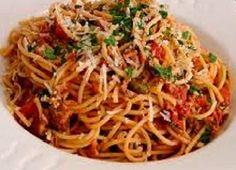 Mangio sano........mangio Vegano! (e mi diverto): Spaghetti al pomodoro alla mia maniera!