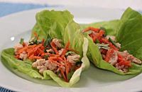 How to Make Asian Turkey & Lettuce Wraps
