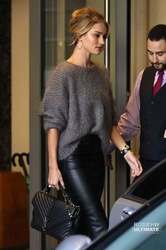 50+ Rosie Huntington Whiteley Street Style