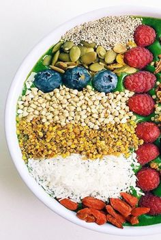 Get your fill of antioxidants with most delicious and healthy green smoothie bowl for breakfast