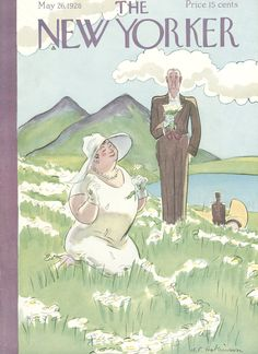 The New Yorker - Saturday, May 26, 1928 - Issue # 171 - Vol. 4 - N° 14 - Cover by : Helen E. Hokinson