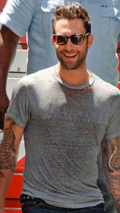 Adam Levine is gorgeous