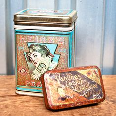 Pair Of Tins now featured on Fab.