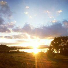 Romantic sunset!