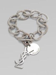 YSL link bracelet