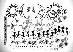 Brasile 2008 (cm 20x30 - china e inchiostro su carta)