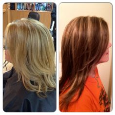 Before and After Hair Transformation