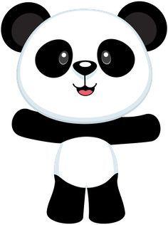 Resultado de imagen para dibujos de osos panda con