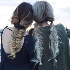 braids + sunsets