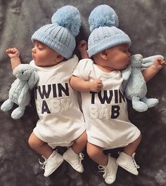 Details about Newborn Infant Baby Boys Girls Bodysuit Twin Romper Jumpsuits Outfits Clothes - Popular Baby Names - Ideas of Popular Baby Names - Twin Baby Girls, Twin Babies, Baby Twins, Twin Baby Clothes, Twin Boy Names, Names Baby, Triplets, Girl Names, Cute Twins
