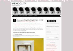 Gewinnt vier Naturkosmetik-Give-Aways bei Mexicolita! Der Naturkosmetik-Blog Mexicolita feiert seinen ersten Blog-Geburtstag! Und die liebe Mexi verlost deshalb...