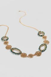 Francesca's Collections: Swansea Beaded Link Necklace