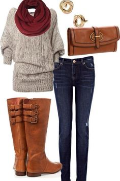 Cute outfit!! ❤ I would so wear all of this