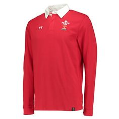 Wales Rugby Long Sleeve Jersey Red: Official Welsh Rugby Union productCharged Cotton® has the comfort of cotton, but dries much…
