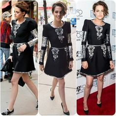 #kristenstewart #twilight #robertpattinson #jenniferlawrence #lbd #lacedress #blonde #apple #kiss #black #fashion #style #celebrity #celebritylook #fashionista #fashionicon #beautiful #pretty #ombre #stylish #lookbook #look #ootd #outfit #heels #shoes #makeup #awesome #swag #awesome... - Celebrity Fashion