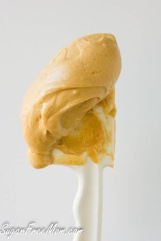 Sugar Free Peanut Butter Buttercream frosting