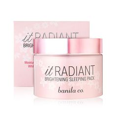 Banila co it Radiant Brightening Sleeping Pack Banila co Sleeping pack Online Shopping Sale Koreadepart