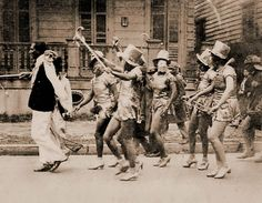 A photo of Baby Dolls circa 1932.  For decades, the Baby Dolls were among the more enduring mysteries of New Orleans' African-American Carnival celebration. Women dressed in vintage baby bonnets and short, frilly skirts showing off their legs and strutting their stuff were fixtures in Zulu parades for ages,...
