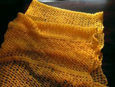 Ruffled Sunbeam Wrap by castonchloe on Etsy